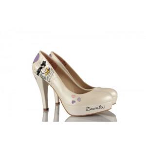Dans Eden Gelin Damat Tasarımı Gelinlik Ayakkabı