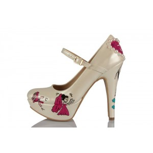 Dans Eden Gelin Damat Tasarımı Gelinlik Ayakkabısı