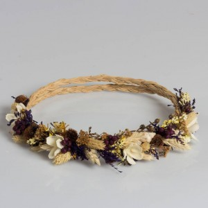 Dry Flower Design Crown