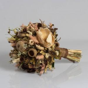 Dry Flower Haşhaşlı Kahve Tonları