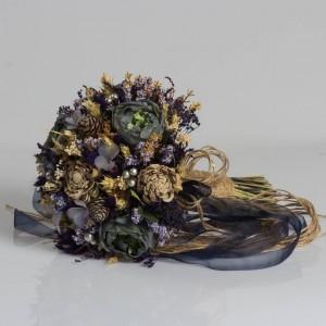Dry Flower Lacivert Kozalak
