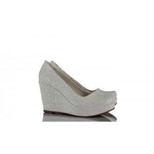 Düğün Ayakkabısı 15 Pont Dolgu Topuk