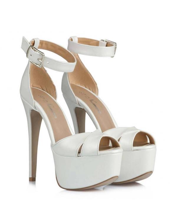 Düğün Ayakkabısı 23 Pont Çapraz Model