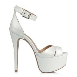 Свадебная Обувь 23 Понт С Перекрещенными Полосками