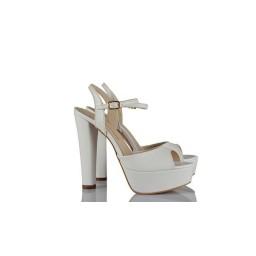 Düğün Ayakkabısı Beyaz Yazlık Model