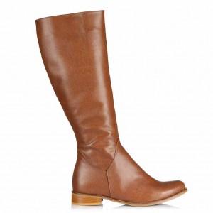 Düz Çizme Modelleri Taba Rengi