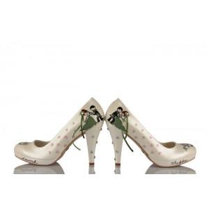 Evlilik Teklifi Tasarımı Gelinlik Ayakkabı