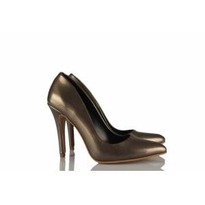 Füme Stiletto Ayakkabı