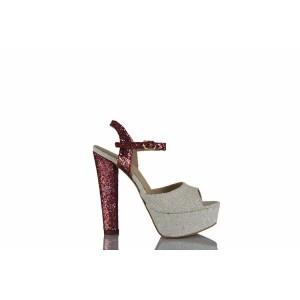 Gelin Ayakkabısı Fujya Beyaz Cam Kırığı