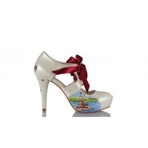 Gelin Ayakkabısı İzmir Saat Kulesi Kız Kulesi