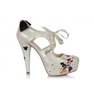 Gelin Ayakkabısı Mickey Mouse Özel Tasarım