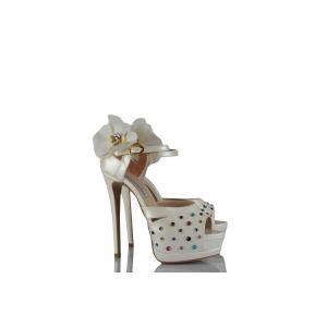 Gelin Ayakkabısı Özel Taşlı Tasarımı
