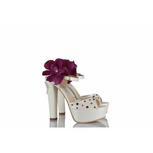 Gelin Ayakkabısı Renkli Taş Tasarım