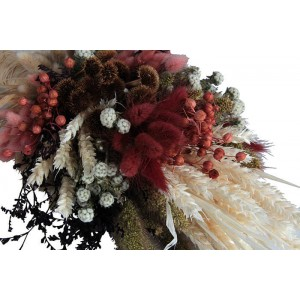 Gelin Buketi Kuru Çiçekler Özel Tasarım Seti