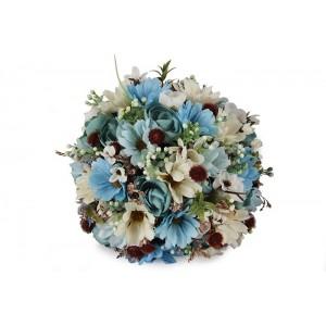 Gelin Çiçeği Mavi Bahar Çiçekleri