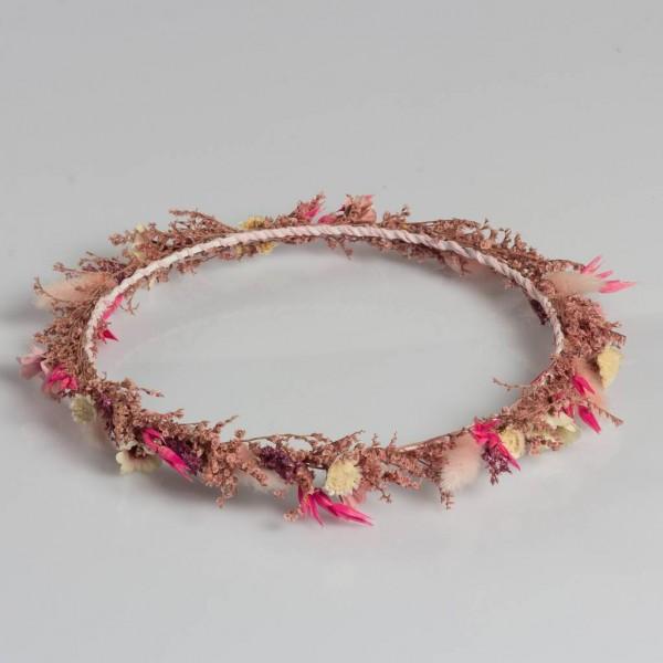 Gelin Tacı Pembenin Tonları Kuru Çiçek