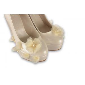 Gelinlik Ayakkabısı Dolgu Topuk