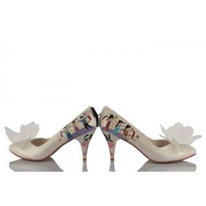 Halay Çeken Tasarım Gelin Ayakkabısı