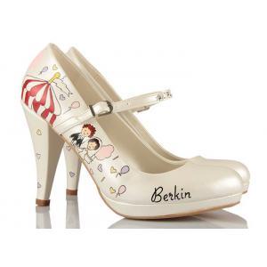 Lunapark Tasarım Gelin Ayakkabısı