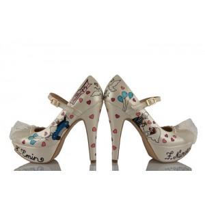 Mutluyuz Tasarım Gelinlik Ayakkabısı
