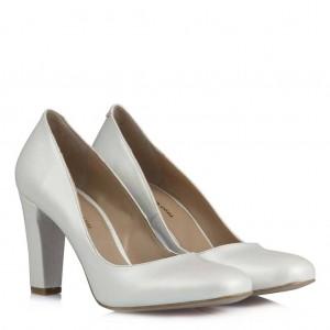 Nikah Ayakkabı Klasik  Kalın Topuklu