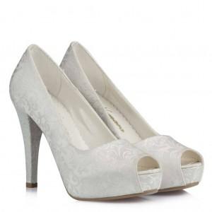 Nikah Ayakkabısı Ayakkabı Kırık Beyaz 17 Pont