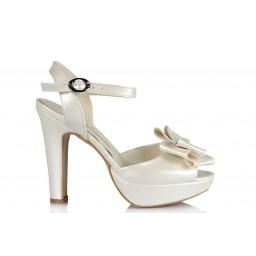 Свадебная Обувь С Лентамина На Каблуках