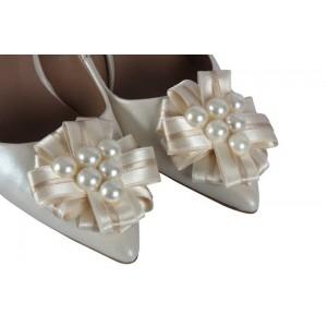 Nikah Ayakkabısı Kalın Topuk Tasarım