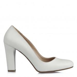 Nikah Ayakkabısı Kalın Topuklu