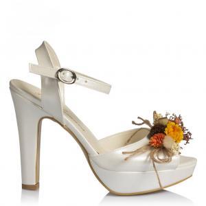 Nikah Ayakkabısı Kuru Çiçek Tasarım
