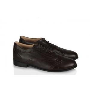 Oxford Ayakkabı Acı Kahverengi Şık Model