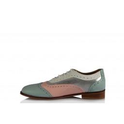 Oxford Ayakkabı Pudra Bebe Mavi