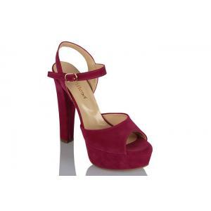 Platform Ayakkabı Fujya Süet Modeli