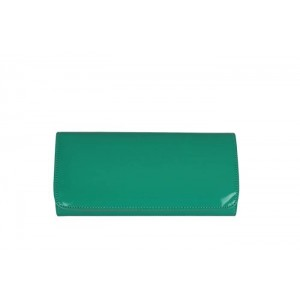 Portföy Çanta Su Yeşili Rugan