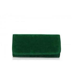 Portföy Çanta Yeşil Süet