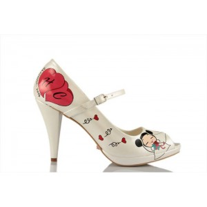 Pucca Tasarımlı Gelinlik Ayakkabısı