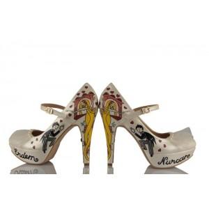 Rapunzel Tasarım Gelinlik Ayakkabısı