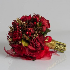 Red Boutique Bride Bouquet