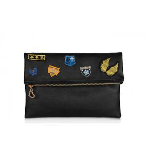 Siyah Armalı Clutch Çanta