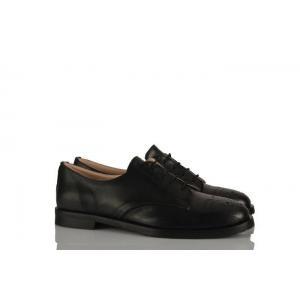 Siyah Deri Oxford Kadın Ayakkabı