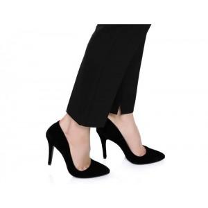 Siyah Kadın Stiletto Ayakkabı