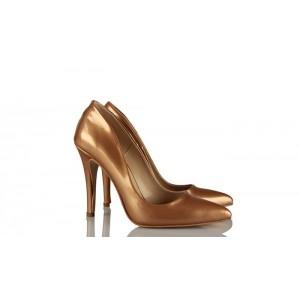 Stiletto Ayakkabı Bal Rengi