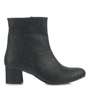Topuklu Bayan Bot Siyah