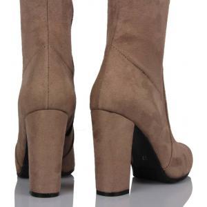 Vizon Çorap Çizme Topuklu