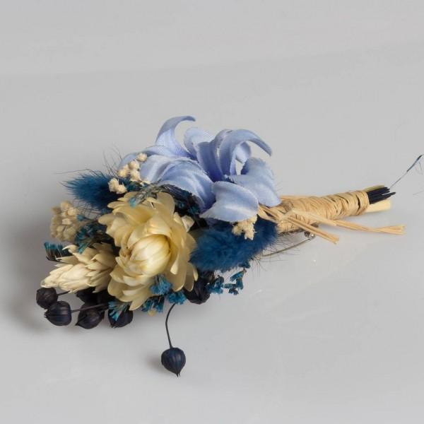 Yaka Çiçeği Mavi Sümbül